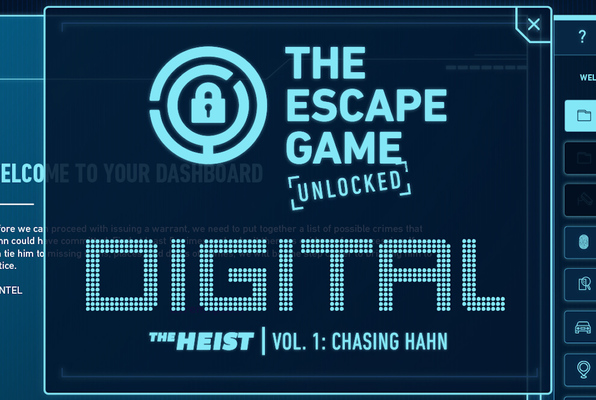 TEG Unlocked: The Heist - Vol. 1: Chasing Hahn [DIGITAL] (The Escape Game Houston) Escape Room