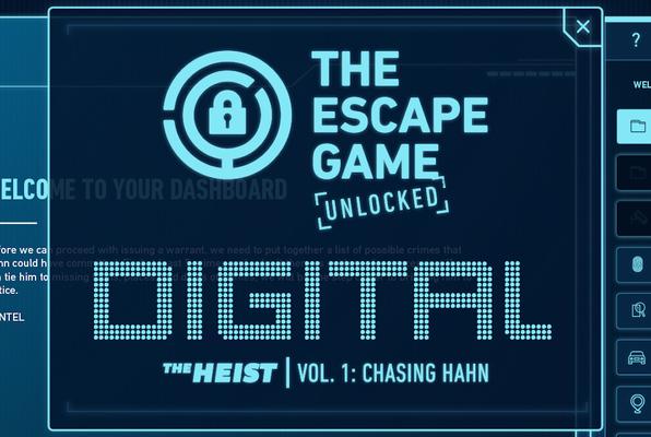 TEG Unlocked: The Heist - Vol. 1: Chasing Hahn [DIGITAL] (The Escape Game Dallas) Escape Room
