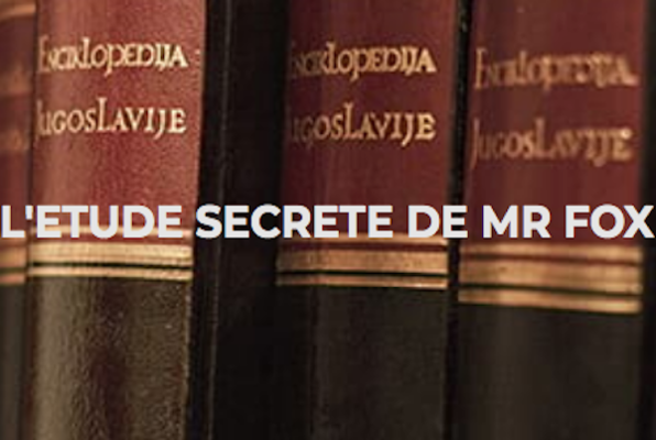 L'Etude Secrete de Mr. Fox