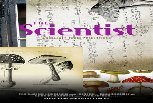 THE SCIENTIST (Breakout) Escape Room