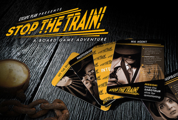 Stop the Train!  (Escape Plan) Escape Room