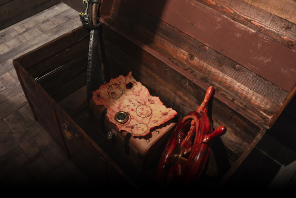 Pirates of the Caribbean (GAME OVER Escape Rooms - Liverpool) Escape Room