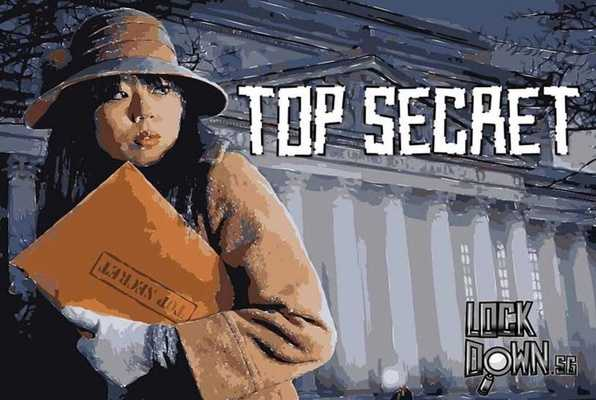 TOP SECRET (Lock Down) Escape Room