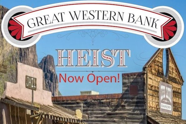 The Great Western Bank Heist