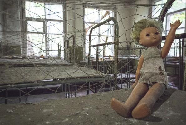 Abandonados el Chernobyl