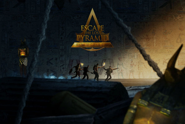 Escape The Lost Pyramid VR (Secret Room Jerusalem) Escape Room