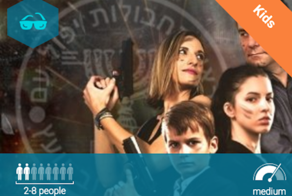 Spy Kids (Escape Room Israel) Escape Room
