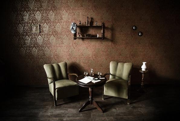 Sherlock's Wohnzimmer