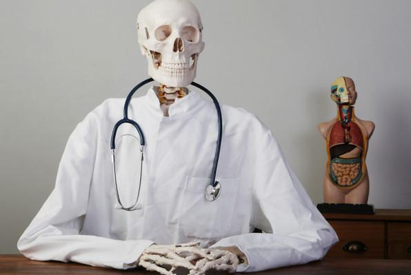 Virus beim Kinderarzt