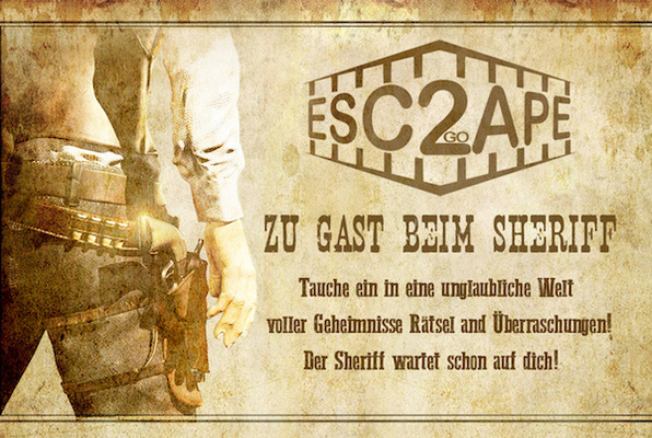 Zu Gast beim Sheriff (Escape2go) Escape Room