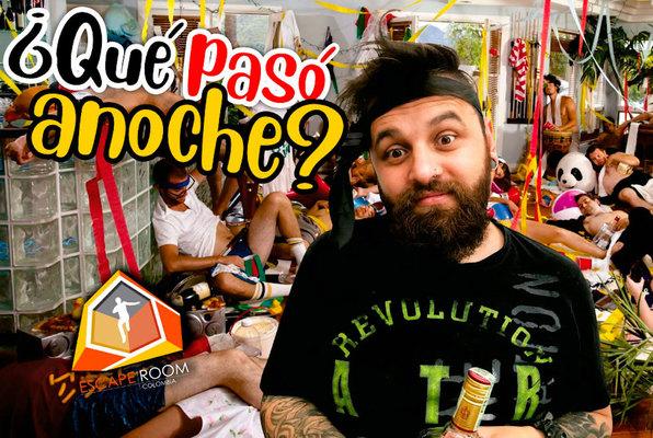 ¿Qué Pasó Anoche? (Escape Room Colombia) Escape Room