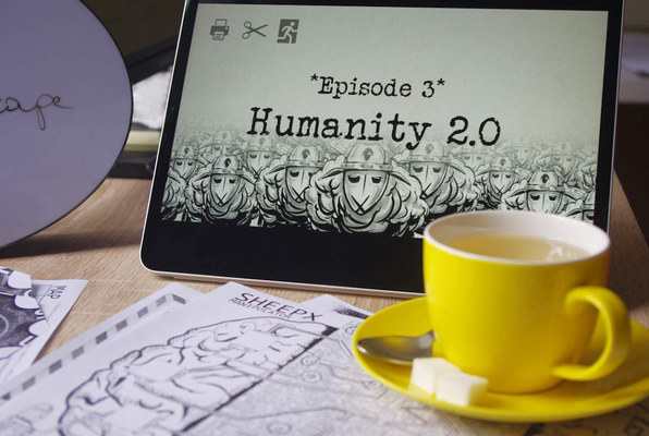 Humanity 2.0 (clueQuest) Escape Room