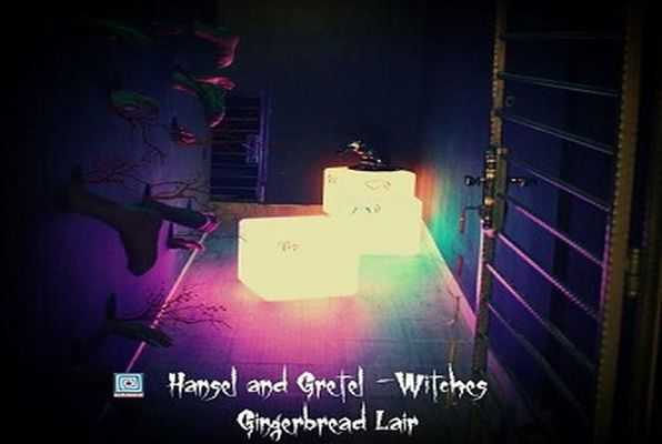 Hansel and Gretel - Witches (Trapped) Escape Room