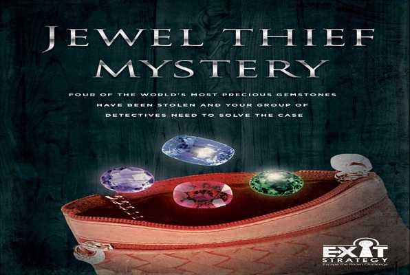 Jewel Thief Mystery (Exit Strategy) Escape Room