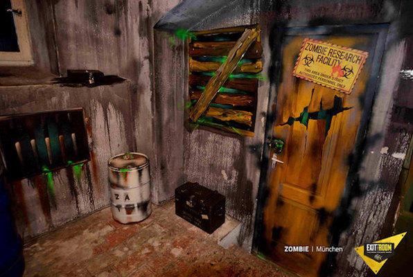 Zombie Apocalypse Online (Exit the Room) Escape Room