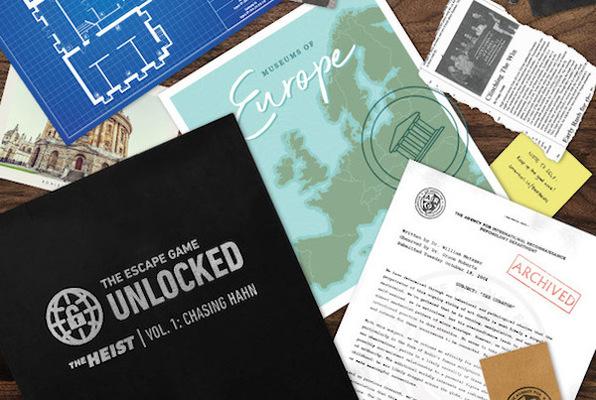 TEG Unlocked: The Heist - Vol. 1: Chasing Hahn [DIGITAL] (The Escape Game Irvine) Escape Room