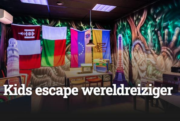 Kids Escape Wereldreiziger (Escape Mission) Escape Room