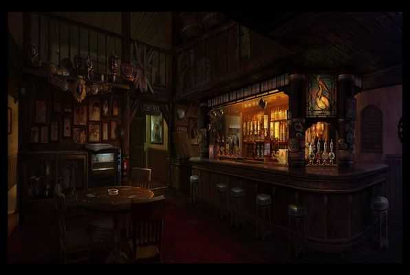 Murder in a bar
