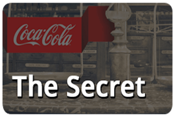 Coca-Cola The Secret (Captive) Escape Room