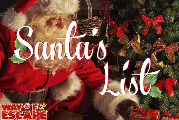 Santa's List (Way of Escape) Escape Room