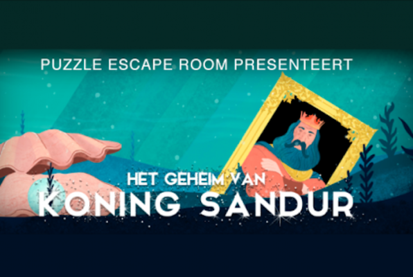 Het Geheim Van Koning Sandur III (Puzzle Escaperooms) Escape Room