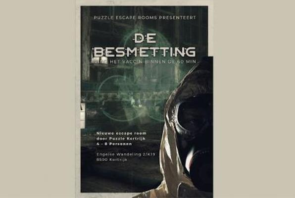 De Besmetting (Puzzle Escaperooms) Escape Room