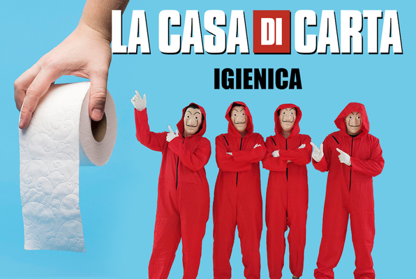 La Casa di Carta Igienica Online (NO EXIT ENTERPRISE) Escape Room