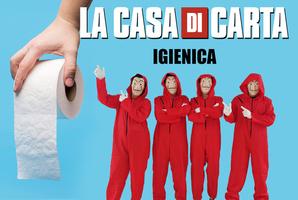 Квест La Casa di Carta Igienica Online