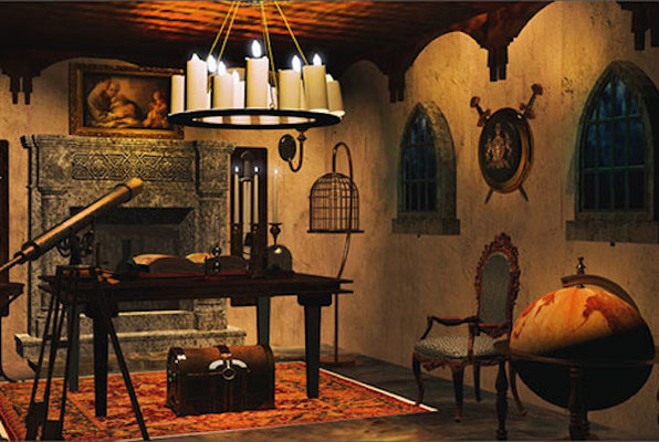 The Sorcerer's Study