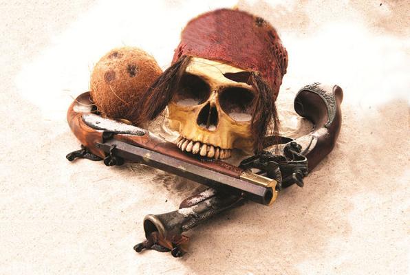 Pirate Blackbeard's Brig