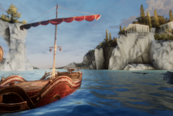 Beyond Medusa's Gate VR (Torch VR) Escape Room