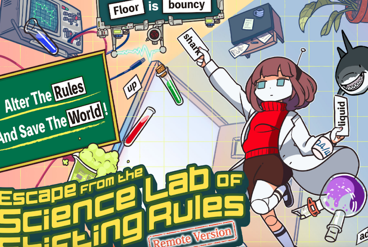 Escape from the Science Lab of Shifting Rules Online
