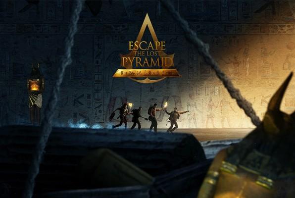 Escape The Lost Pyramid VR (Incognito Escape) Escape Room