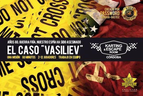 El caso Vasiliev (Password) Escape Room