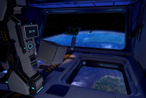 Space Station Tiberia VR (Virtual Zone) Escape Room