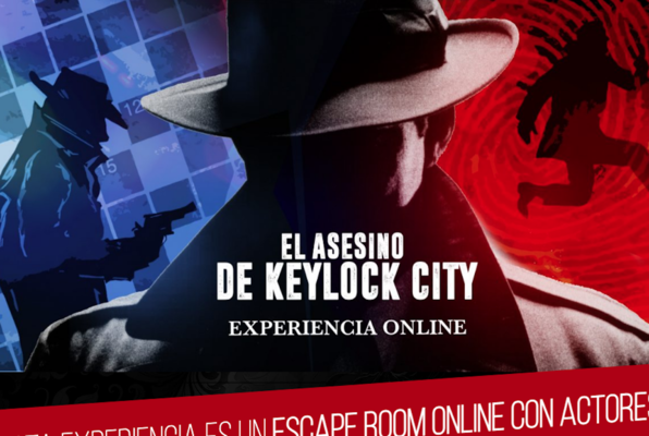 El Asesino de Keylock City Online (Get Out Escape Room) Escape Room