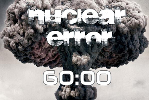 Nuclear Error (NO Escape) Escape Room