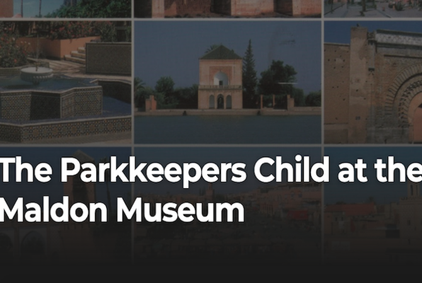 The Parkkeepers Child at the Maldon Museum