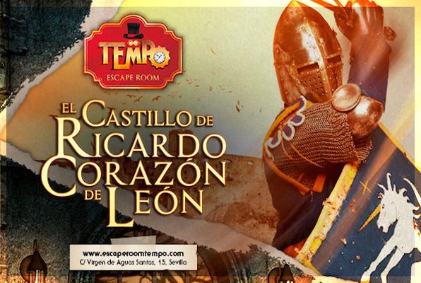 El castillo de Ricardo Corazón de León (Tempo) Escape Room