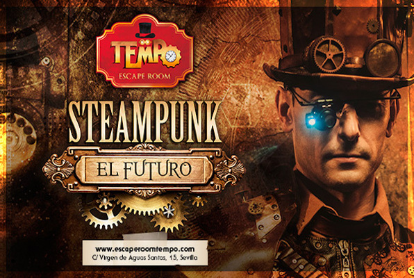 Steampunk, el Futuro (Tempo) Escape Room