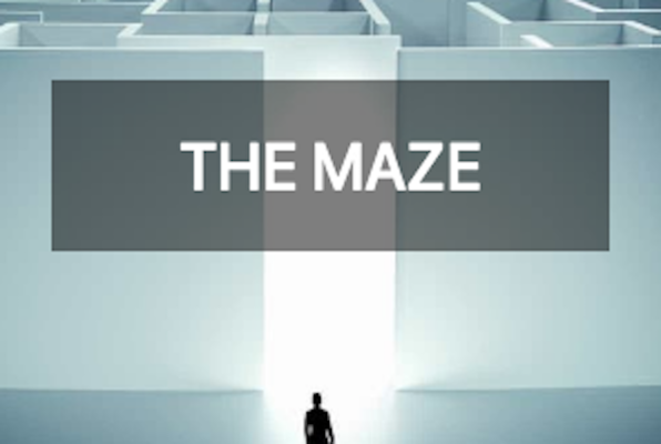The Maze (Locked Game) Escape Room