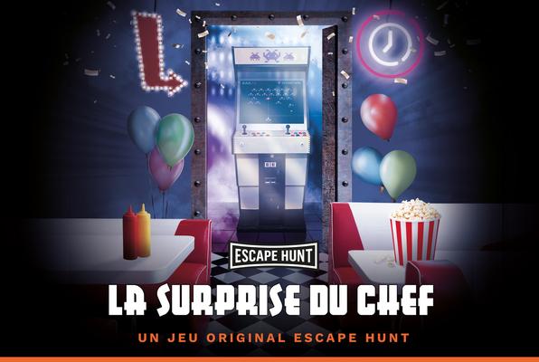 La Surprise du Chef (Escape Hunt Nantes) Escape Room