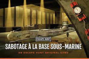 Квест Sabotage à la Base Sous-Marine
