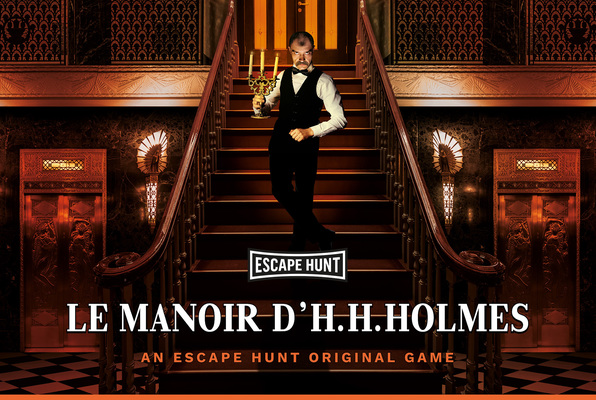 Le Manoir D'H. H. Holmes (Escape Hunt Bordeaux) Escape Room