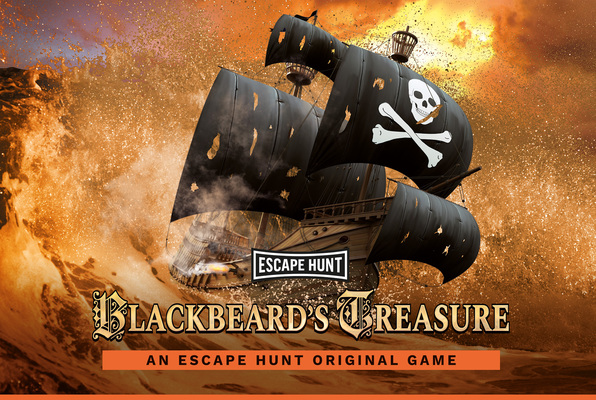 Blackbeard's Treasure (Escape Hunt Reading) Escape Room