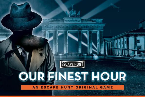 Our Finest Hour (Escape Hunt Cheltenham) Escape Room