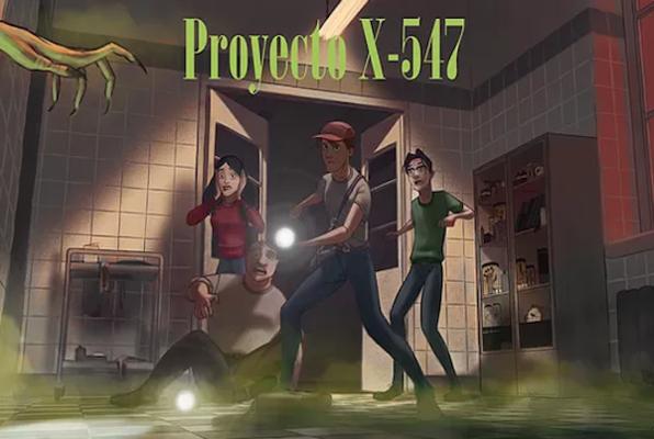 Proyecto X-547 (Curious Cat) Escape Room