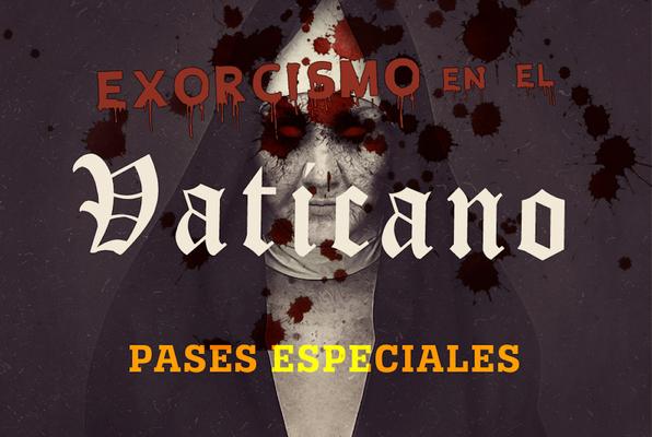Exorcismo en el Vaticano (Escape College Madrid) Escape Room
