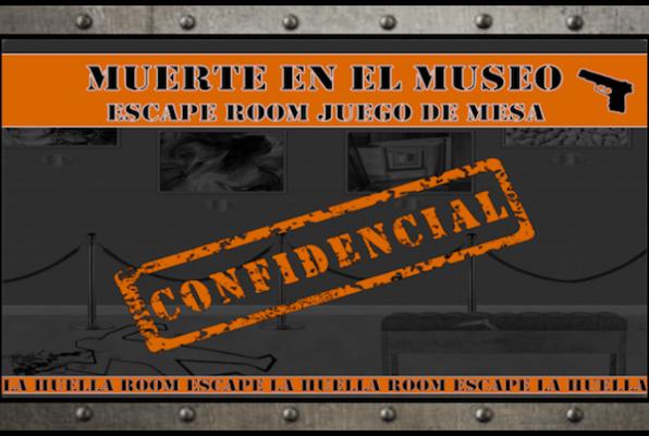 Muerte en el Museo (La Huella Room Escape) Escape Room