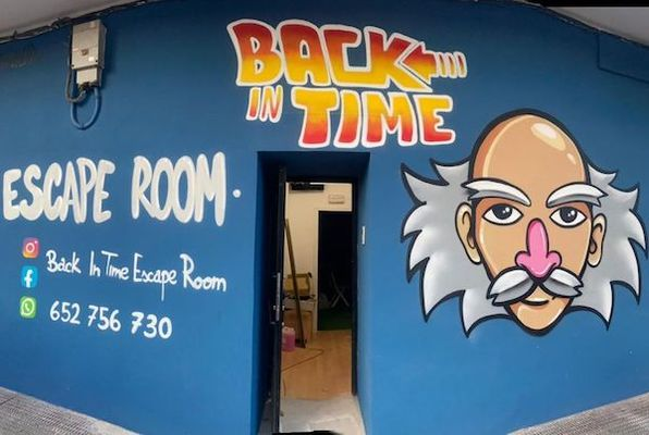 Back In Time (Back In Time) Escape Room